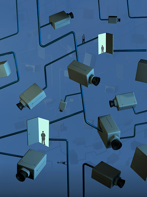 Video Network Illustration